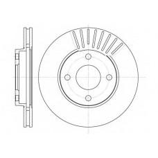 Диск тормозной передний Fiesta/Fusion/Focus I  657510