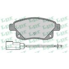 Задние тормозные колодки TRANSIT2006 05P1261